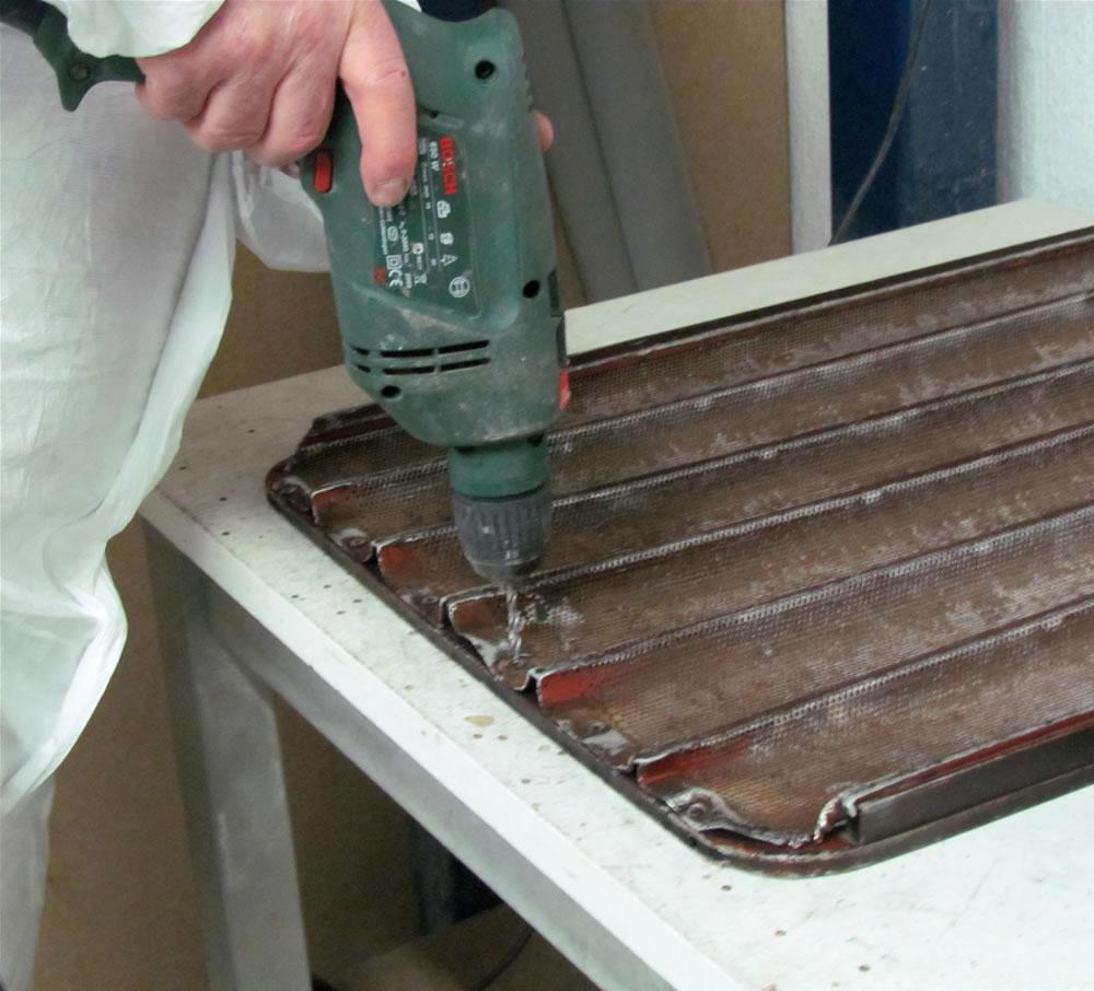 Bandejas panader a especialista en pinturas y barnizados - Limpieza de horno ...