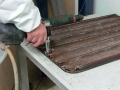 Reparación bandejas panadería